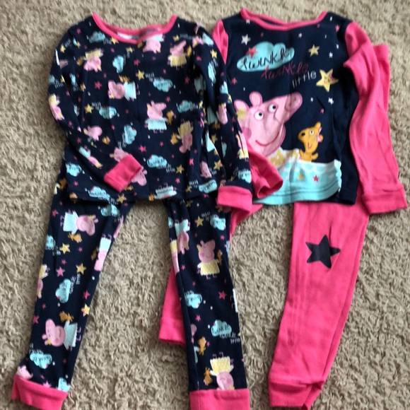 Peppa Pig Other - Peppa Pajamas 4T